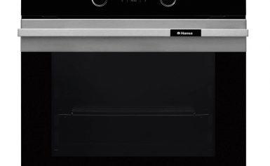 Cuptor incorporabil Hansa BOEI62090015, Electric, Grill, cu 4 Functii,Rotisor, Clasa A-20%, Inox
