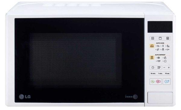 Cuptor cu microunde LG MH6042D, LED, 700 W, 20 l, Argintiu