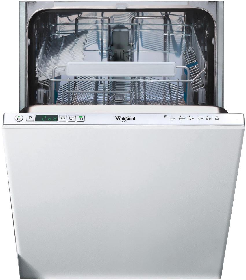 Masina de spalat vase incorporabila Whirlpool ADG 301, 10 Seturi, 6 Programe, 45 cm, Clasa A+, LED