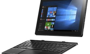 Laptop 2 in 1 Lenovo MIIX 310-10ICR cu procesor Intel® Atom™ x5-Z8350 1.44GHz, 10.1″, 2GB, 64GB eMMC