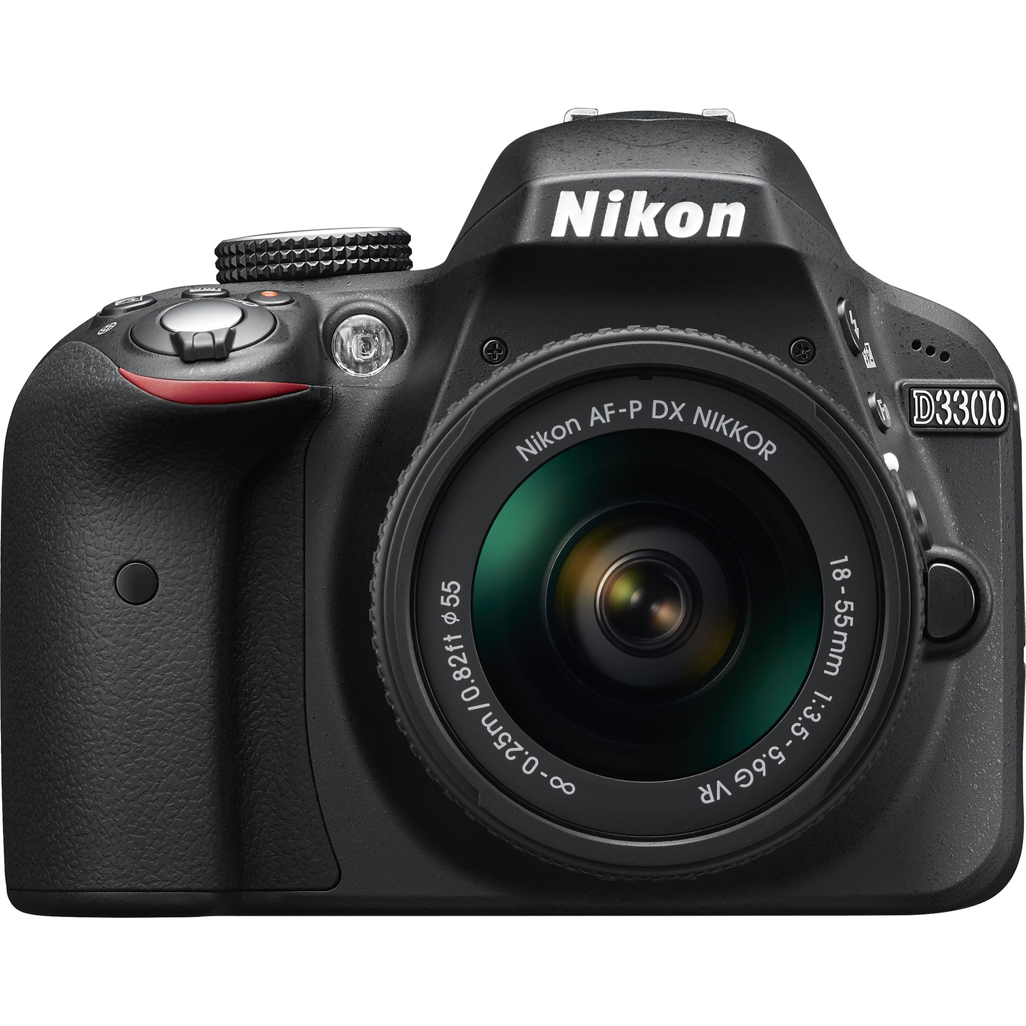 Aparat foto DSLR Nikon D3300, Black, 24.2 MP