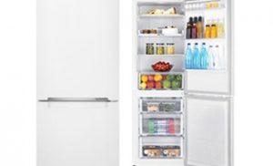 Combina frigorifica Samsung RB29HSR2DWW/EF, 290 l, Clasa A+, Full No Frost, H 178 cm, Alb
