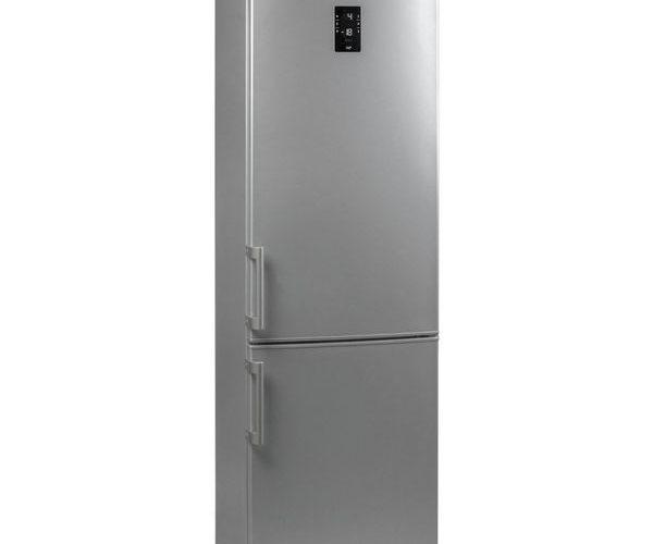 Combina frigorifica Arctic ANK366NFS+, 321 l, Clasa A+, No Frost, H 201 cm, Silver