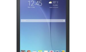 Tableta Samsung Galaxy Tab E T560, 9.6″, Quad-Core 1.3 GHz, 1.5GB RAM, 8GB, Black