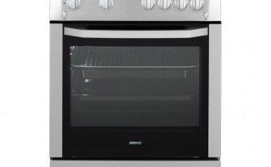 Aragaz Beko CSG 62110 DX, 4 Arzatoare, Aprindere electrica, Grill, Rotisor, Timer, 60 cm, Inox