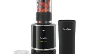 Blender Breville Active Pro, 300W, 0.5l, Recipient portabil, Negru