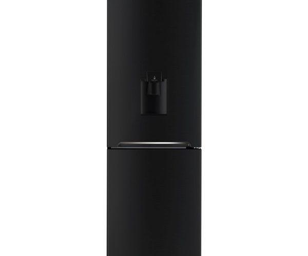 Combina frigorifica Daewoo RN-308RDQB, 305 l, Clasa A+, No Frost, Dispenser apa, H 187, Negru