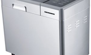 Masina de paine Heinner Master Collection HBM-900XMC, 615 W, 900 g, 12 Programe, Argintiu