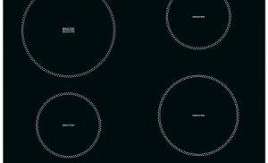 Plita incorporabila Whirlpool ACM 802/NE, Inductie, 4 Zone de gatit, Afisaj digital, 58 cm, Negru