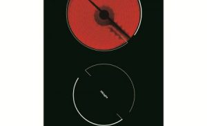 Plita incorporabila domino Hansa BHCS38120030, Vitroceramica, 2 Zone de gatit, Sticla neagra