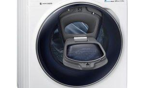 Masina de spalat rufe AddWash Samsung Crystal Blue WW12K8402OW, 12kg, 1400 RPM, Clasa A+++