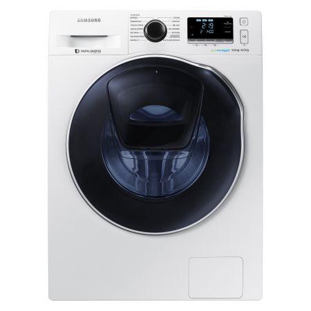 Masina de spalat rufe Samsung Eco Bubble AddWash WW80K7415OW/LE, 1400 RPM, 8 kg, Clasa A+++, Alb