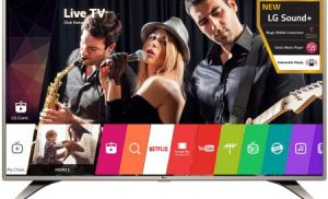 Televizor LED Smart LG 43LH615V, 108 cm, Full HD
