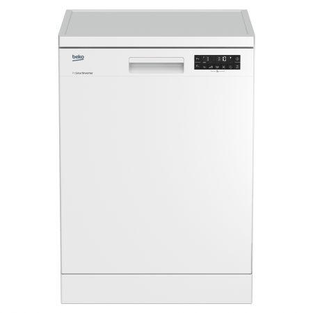 Masina de spalat vase Beko DFN28321W, 13 seturi, 8 programe, ProSmart Inverter, Clasa A++, 59 cm, Alb
