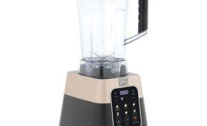 Blender Star-Light Pro DBB-2018W, 1800 W, 28000 rpm, reglaj electronic pentru timp si viteza, vas 2.0 l Tritan, 0% BPA, Display LED, 6 functii predefinite, Negru/Maro