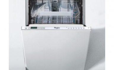 Masina de spalat vase incorporabila Whirlpool 6th Sense ADG 422, 10 Seturi, 7 Programe, Display LED, 45 cm, Clasa A++