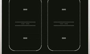 Plita incorporabila Whirlpool ACM 828 LX, Inductie, 4 Zone de gatit, Touch Control, Sticla neagra