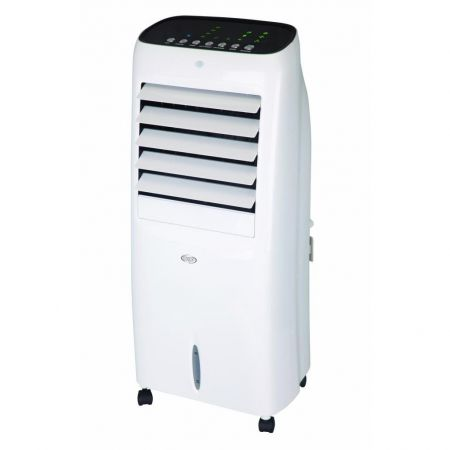 Racitor si purificator de aer mobil ARGO HUSKY, Interior si Exterior, Umiditate reglabila, Ventilatie, Racire, Flapsuri auto reglabile, Telecomanda, Timer, Functia Sleep, Rezervor 6 l