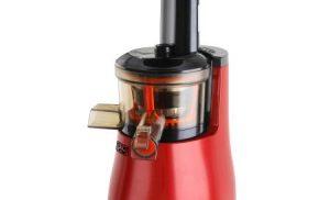 Storcator de fructe si legume cu melc Star-Light SJB-150R, 150 W, 55 RPM, Recipient suc 1.0 l, Recipient pulpa 0.8 l, Functie Reverse, Rosu