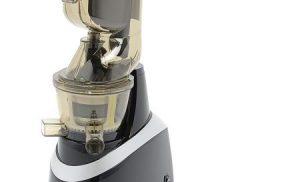 Storcator de fructe si legume cu melc Star-Light SJB-240B, 240 W, 80 RPM, Recipient suc 1.0 l, Recipient pulpa 0.8 l, Functie Reverse, Tub alimentare 80 mm, Negru/Argintiu