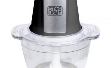 Tocator Star-Light DC-500BS, 500W, 1 l, vas sticla, Negru/Inox