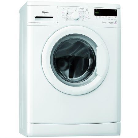 Masina de spalat rufe Slim Whirlpool AWS 71000, 6th Sense Colours, 7 Kg, 1000 RPM, Clasa A+++