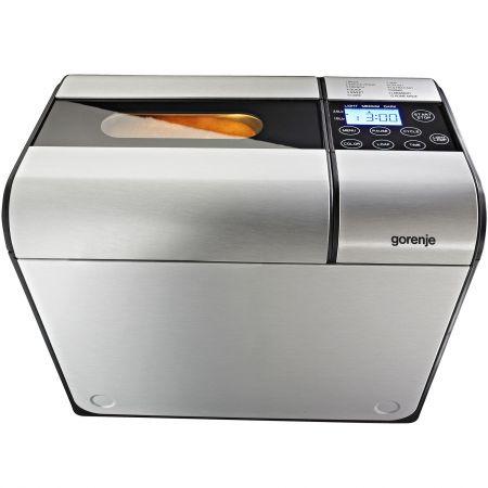 Masina de paine Gorenje BM900AL, 615 W, 900 g, 12 programe, Inox