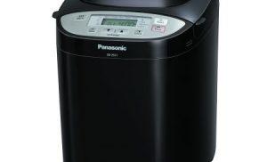 Masina de paine Panasonic SD-2511KXE, 1200g, 17 programe, Negru