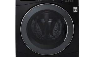 Masina de spalat rufe cu uscator LG FH4A8FDH8N, Inverter Direct Drive, Spalare 9 kg / Uscare 6 kg, 1400 RPM, Clasa A, Negru