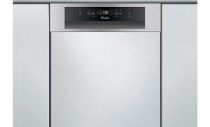 Masina de spalat vase semi-incorporabila Whirlpool ADG 422 IX, 6th Sense, 7 programe, 10 seturi, 45 cm, Clasa A++