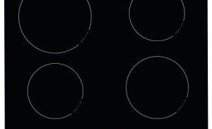 Plita incorporabila Hansa BHI68300, Inductie, 4 Zone de gatit, Touch control, 60 cm, Sticla neagra