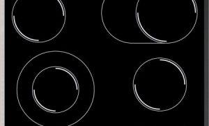 Plita incorporabila Samsung CTR164NC01, Electric, 4 Zone, Sticla neagra