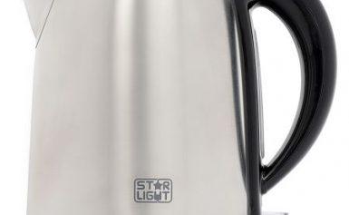 Fierbator Star-Light DK 382, 2200 W, 1.7 l, Negru/Inox