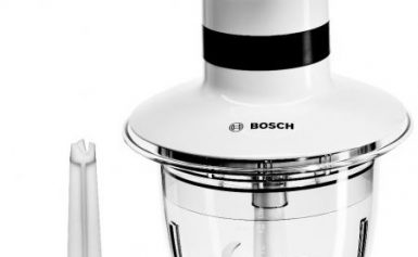 Tocator Bosch MMR08A1, 400 W, 0.8 l, 1 viteza, Alb