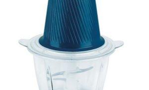 Tocator Charm Heinner HMC-300BL, 300 W, 2 cutite inox, bol de sticla, 2 viteze, Albastru