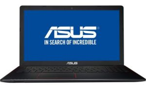 Laptop ASUS R510VX-DM049D cu procesor Intel® Core™ i7-6700HQ 2.60GHz, Skylake™, 15.6″, Full HD, 8GB, 256GB SSD, DVD-RW, nVIDIA GeForce GTX 950M 4GB, Free DOS, Glossy Black