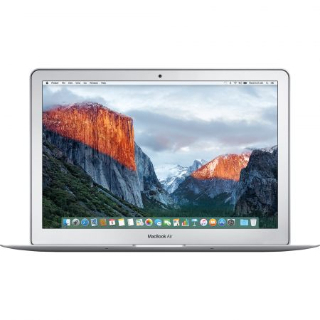Laptop Apple MacBook Air 13 cu procesor Intel® Dual Core™ i5 1.60GHz, 13.3″, 8GB, 128GB SSD, Intel® HD Graphics 6000, OS X El Capitan, RO KB