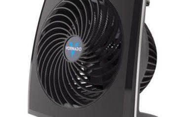 Circulator de aer 573 Vornado USA, Garantie 5 ani, Foloseste actiunea vortex pana la o inaltime sau distanta de 18 metri, Debit aer max: 396 m3 / h, Consum max: 38 W