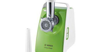 Masina de tocat Bosch MFW3520G, putere 1500w, capacitate tocare 1,8 kg/min,Verde