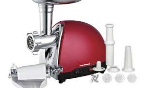 Masina de tocat carne Heinner MG1500TA-red, 1500W, 1.2 Kg/min, Rosu