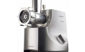 Masina de tocat carne Kenwood MG700 Excel Pro 2000, 2000 W, 3 kg/min, Negru/Argintiu