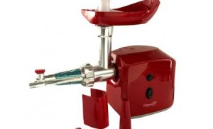 Masina de tocat carne electrica Hausberg-HB-3400, 800W, Negru, Rosu