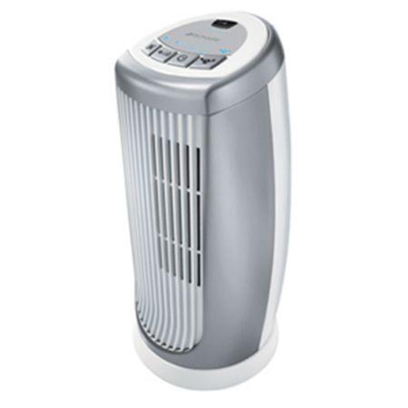 Ventilator Bionaire BMT014D, 35W, 3 viteze, timer, ionizare, Alb/Gri