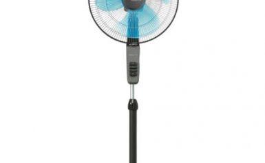 Ventilator cu picior Rowenta Essential VU4110, 40 cm, 3 trepte, Gri