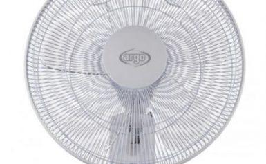 Ventilator de perete Argo Lotus, 3 trepte de viteza, 3 moduri de operare, Timer, Functia Sleep, Telecomanda, Oscilatie, Unghi de inclinare reglabil