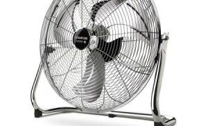 Ventilator de podea Taurus SIROCCO 18. 120 W, 50 cm.Debit aer: 97,54 mc/min, 3 viteze, palete metalice pentru ventilatie puternica.Inox.