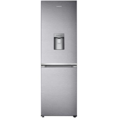 Combina frigorifica Samsung RB38J7530SR, 373 l, Clasa A+, No Frost, Dozator apa, H 193 cm, Argintiu