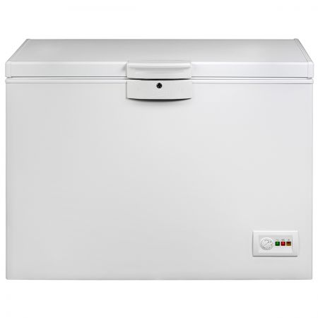 Lada frigorifica Beko HM130520, 298 l, Clasa A+, H 86, Alba