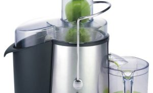 Storcator de fructe Heinner XF-1000SS, 1000 W, 2 viteze, Argintiu