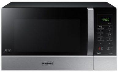 Cuptor cu microunde Samsung GE109MST, 900 W, 28 l, Grill, Digital, Negru/Inox
